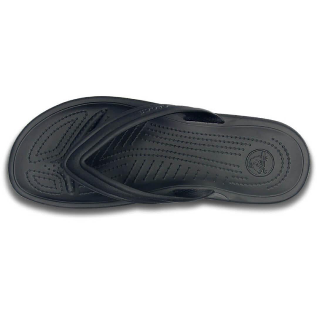 Шлепанцы Crocs Retro Flip Black Light Grey