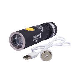 Карманный фонарь Armytek Prime C1 Pro XP-L Magnet USB (белый свет) + 18350 Li-Ion