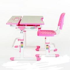 Парта и стул Lavoro Pink