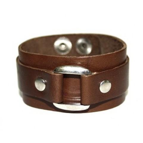 Кожаный браслет TRONIN N-6BR