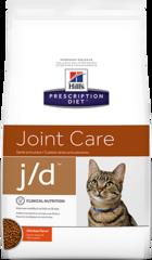 Ветеринарный корм для кошек для здоровья суставов Hill`s Prescription Diet  j/d