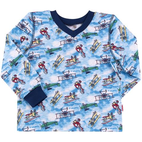 ПЖ41 Пижама для мальчика байка (новый принт)