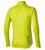 Мужская рубашка для бега Asics Lite-Show LS  Zip (124756 0392) желтая фото