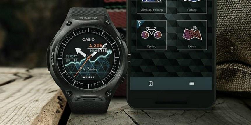 Японская компания casio объявила о выпуске своих вторых «умных» часов из линейки smart outdoor watch – wsd-f20, отличающихся повышенной защитой от внешних воздействий.