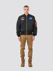 бомбер Alpha Industries Apollo MA-1 black
