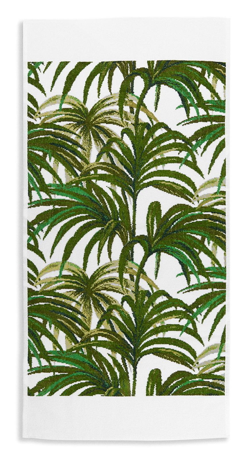 Полотенце 50x100 Feiler Palmeral Green 12 weis