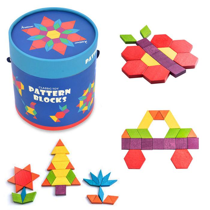 деревянная мозаика для детей