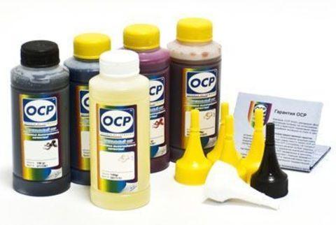 Спецкомплект водных чернил OCP для картриджей HP #940 SAFE SET  (C, M, Y 126, BK35) 100 gr x 4