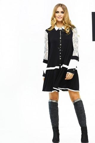 Блуза черная Elisa Cavaletti арт. ELW181008210