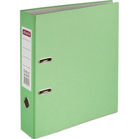 Папка с арочн.мех. ATTACHE Colored light зеленый 50мм