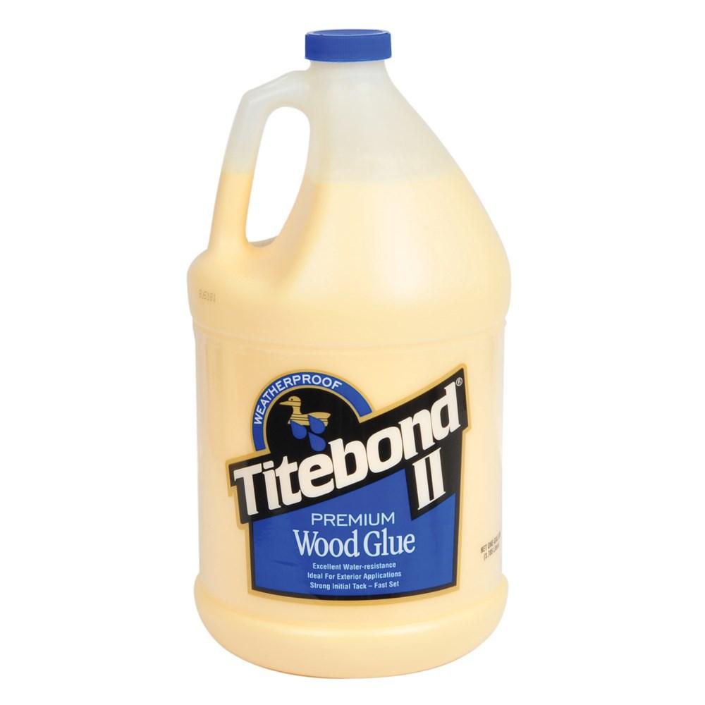 Профессиональный влагостойкий клей для дерева Titebond II Premium Wood Glue 3,785л