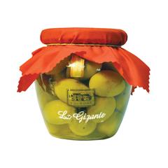 Оливки Casa Rinaldi гигантские зеленые GGG 590 г
