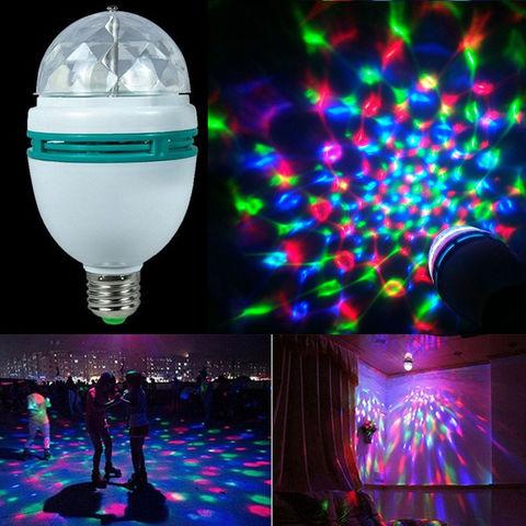 Светодиодная диско-лампа с переходником