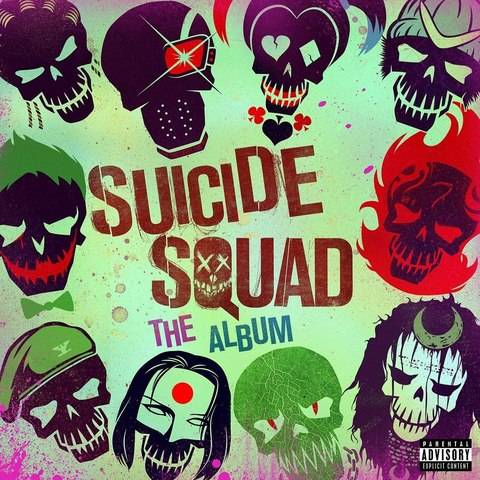 Виниловая пластинка. Suicide Squad - the Album (Original Soundtrack)