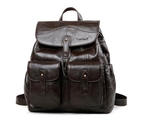 Рюкзак кожаный женский Cobbler Legend 091 Classic