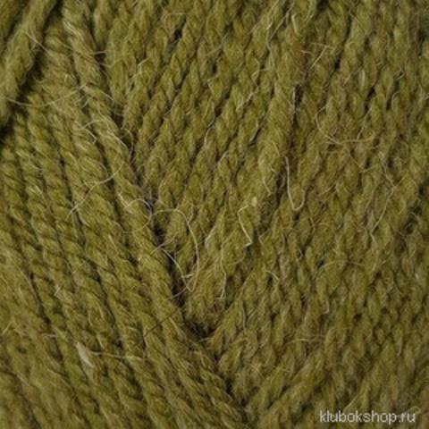 Пряжа Носочная (Пехорка) 448 светло-оливковый, фото