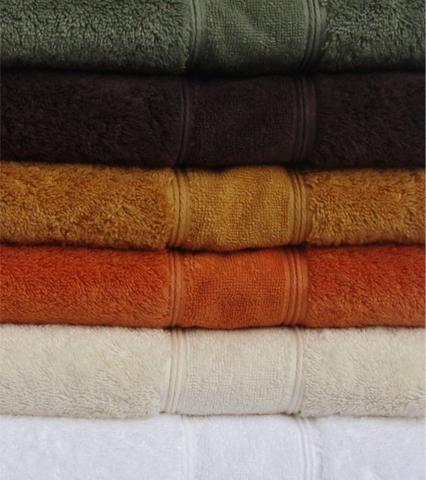 Набор полотенец 2 шт Carrara Luxor зеленый