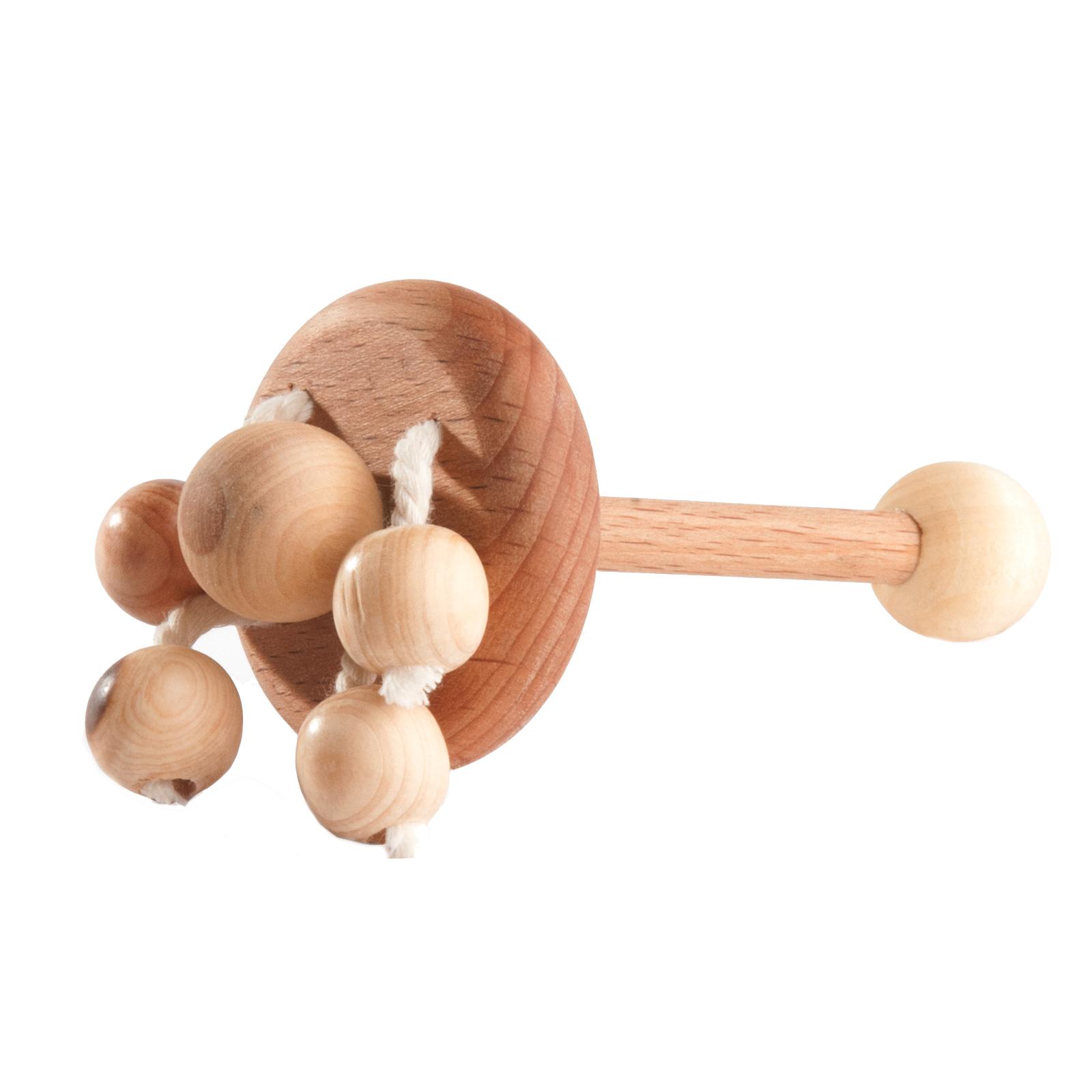 Погремушка деревянная
