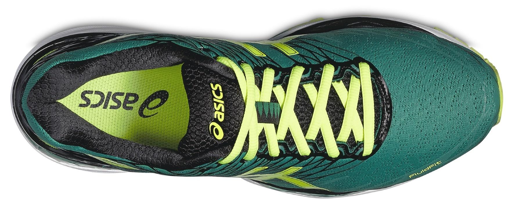 Мужские беговые кроссовки Asics Gel-Nimbus 18 (T600N 8807) зеленые фото