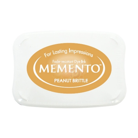 Штемпельная подушечка MEMENTO - PEANUT BRITTLE