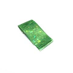 Фольга зеленая голография