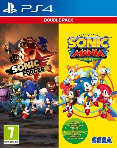 Sony PS4 Sonic Forces + Sonic Mania Plus Комплект (английская версия)