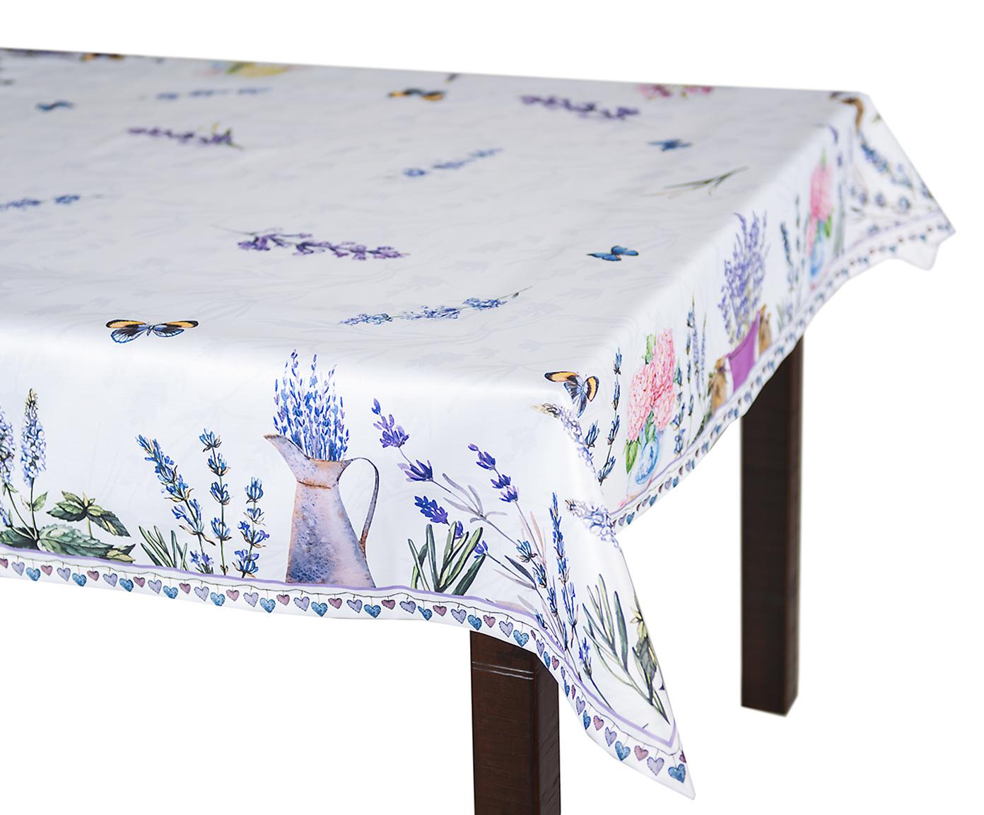 Скатерть 140x180 Blonder Home Lavender