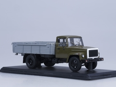 GAZ-3307 engine ZMZ-513 wooden board khaki gray Start Scale Models (SSM) 1:43