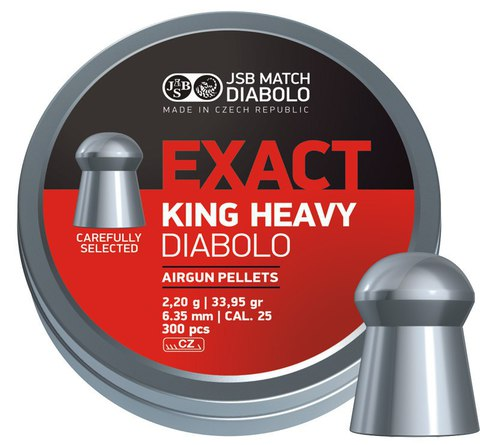 JSB Exact King Heavy 6,35/2,2