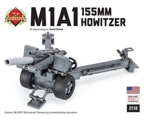2118 гаубица Howitzer M1A1 155mm