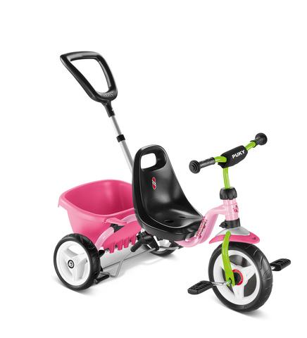 Трехколесный велосипед Puky CAT 1S розовый