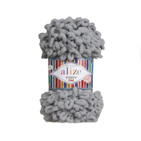 Купить Пряжа Ализе Пуффи Файн Код цвета 343 | Интернет-магазин пряжи «Пряха»