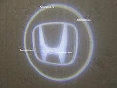 Лазерная проекция с логотипом Honda - Хонда
