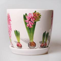 Горшок керамический, арт. 31043-В, большой