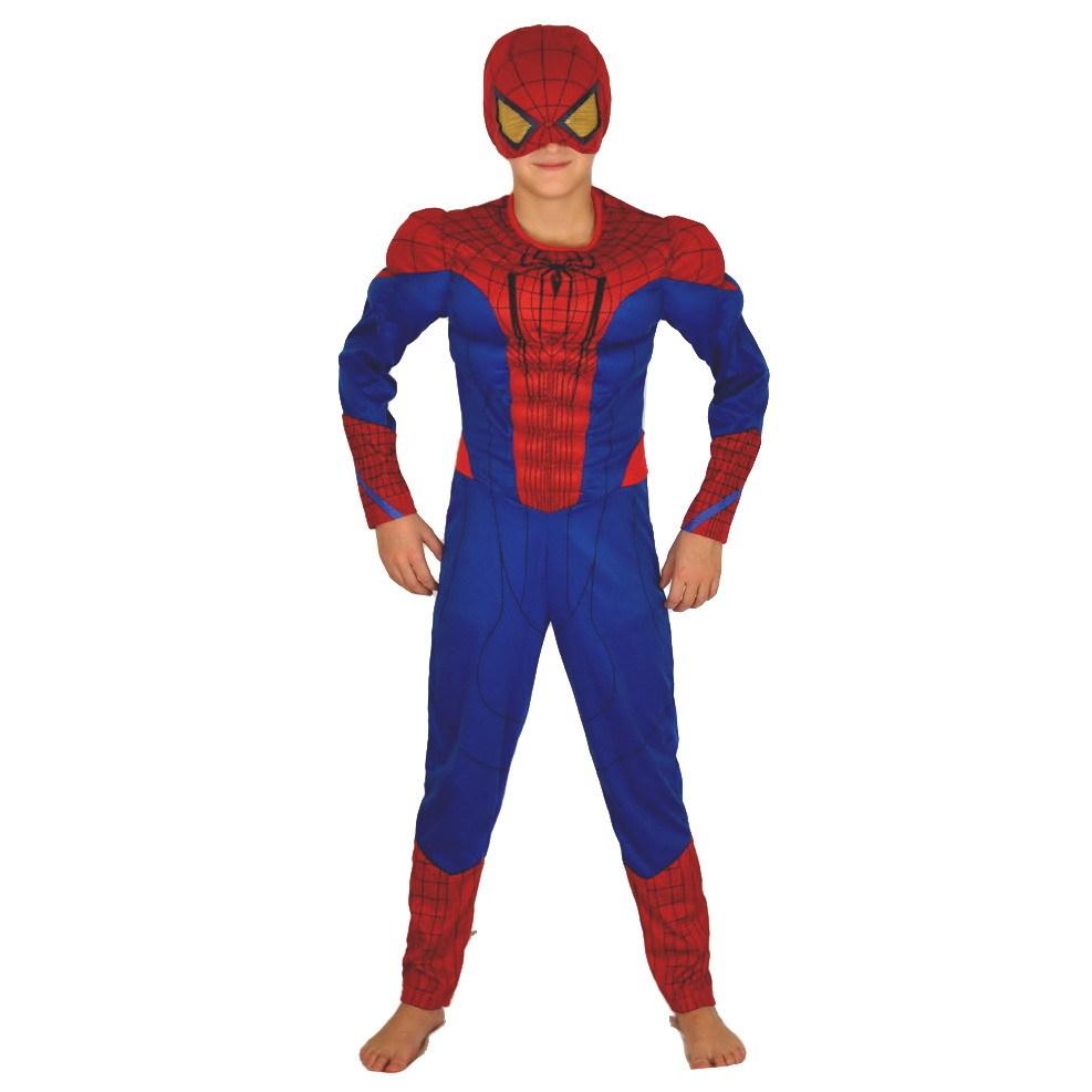 Костюмы Человека Паука Костюм Человека-Паука детский классический с полумаской spider_man_01.jpg