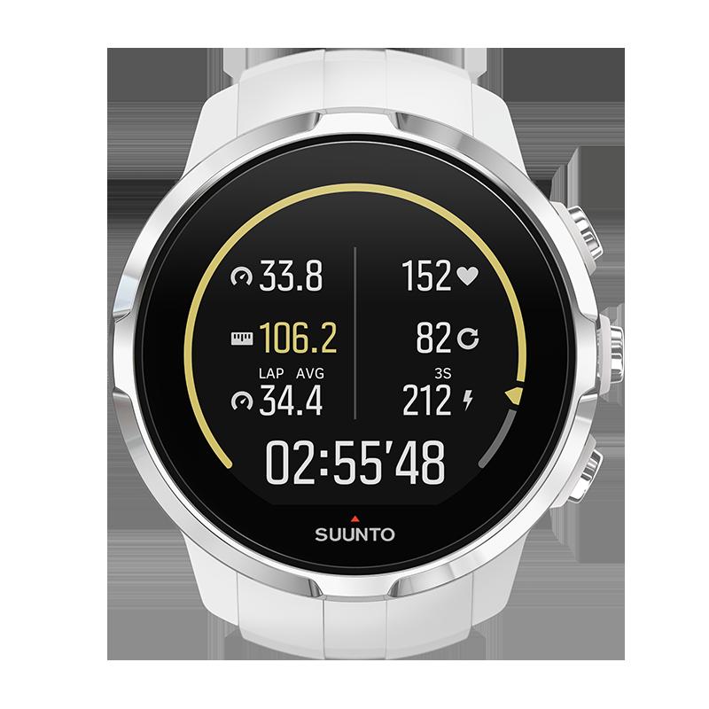 5673f534d8bf Умные наручные часы Suunto Spartan Sport White (HR) SS022650000 ...