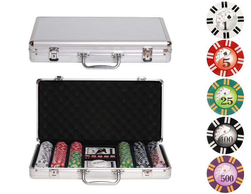 Покерный набор Royal Flush на 300 фишек