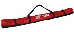 Чехол для беговых лыж Ray Red на 3 пары до 205 см