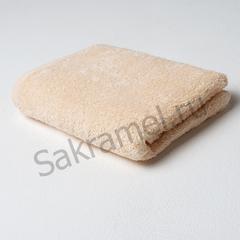 Полотенце махровое (Махра, шампань, 50х90 см, 1 шт/упк, штучно)