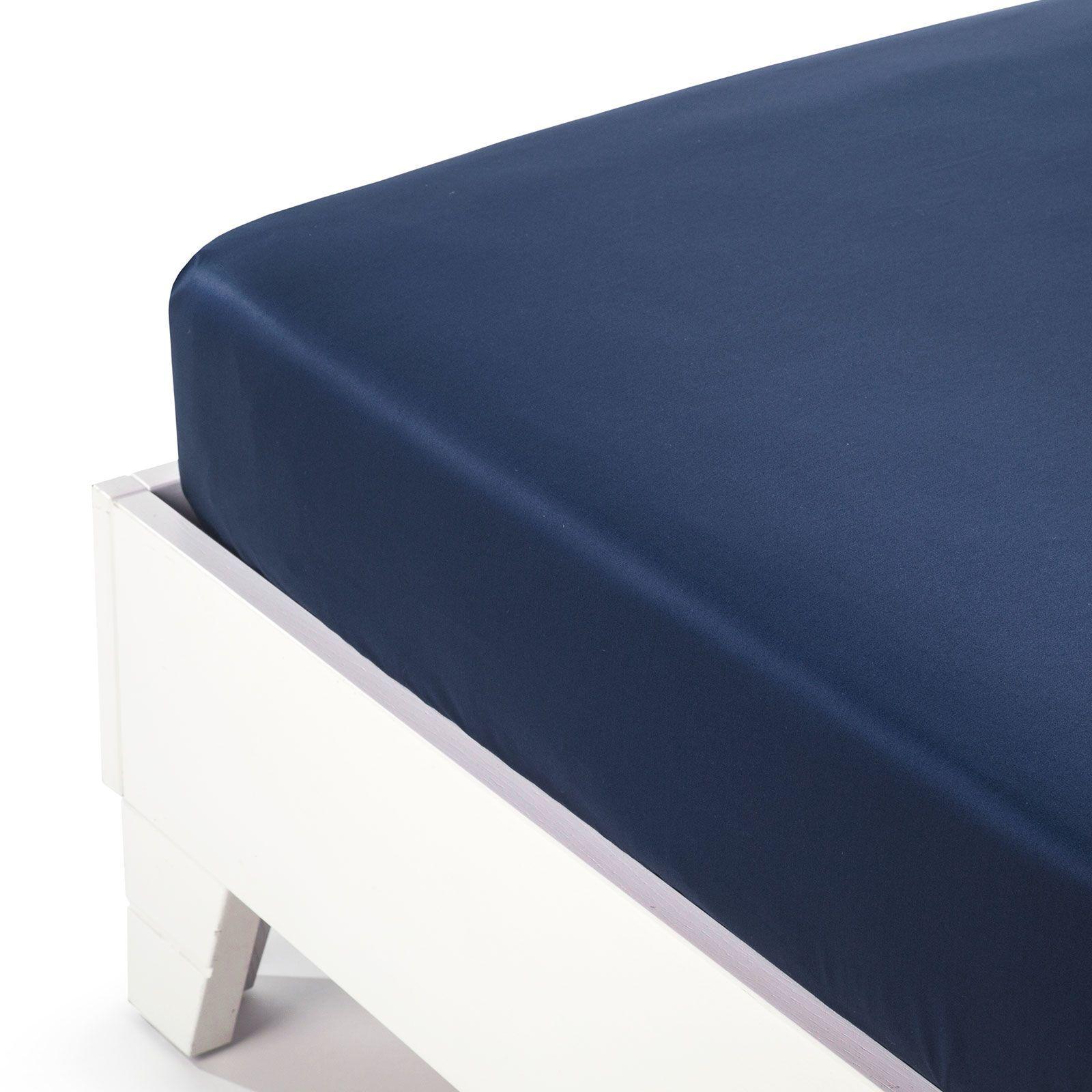 Простыни на резинке Простыня на резинке 160x200 Сaleffi Raso Tinta Unito с бордюром сатин темно-синяя prostynya-na-rezinke-90x200-saleffi-raso-tinta-unito-satin-blu-italiya.jpg