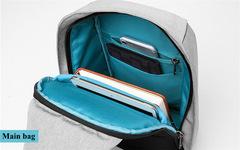 Рюкзак однолямочный повседневный КАКА 99018 серый