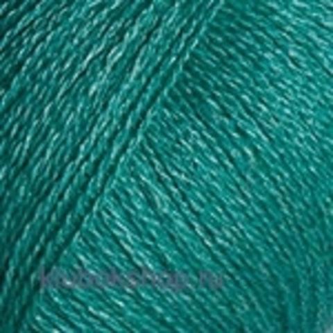 Пряжа Silky Wool (YarnArt) 339 зеленая бирюза - фото