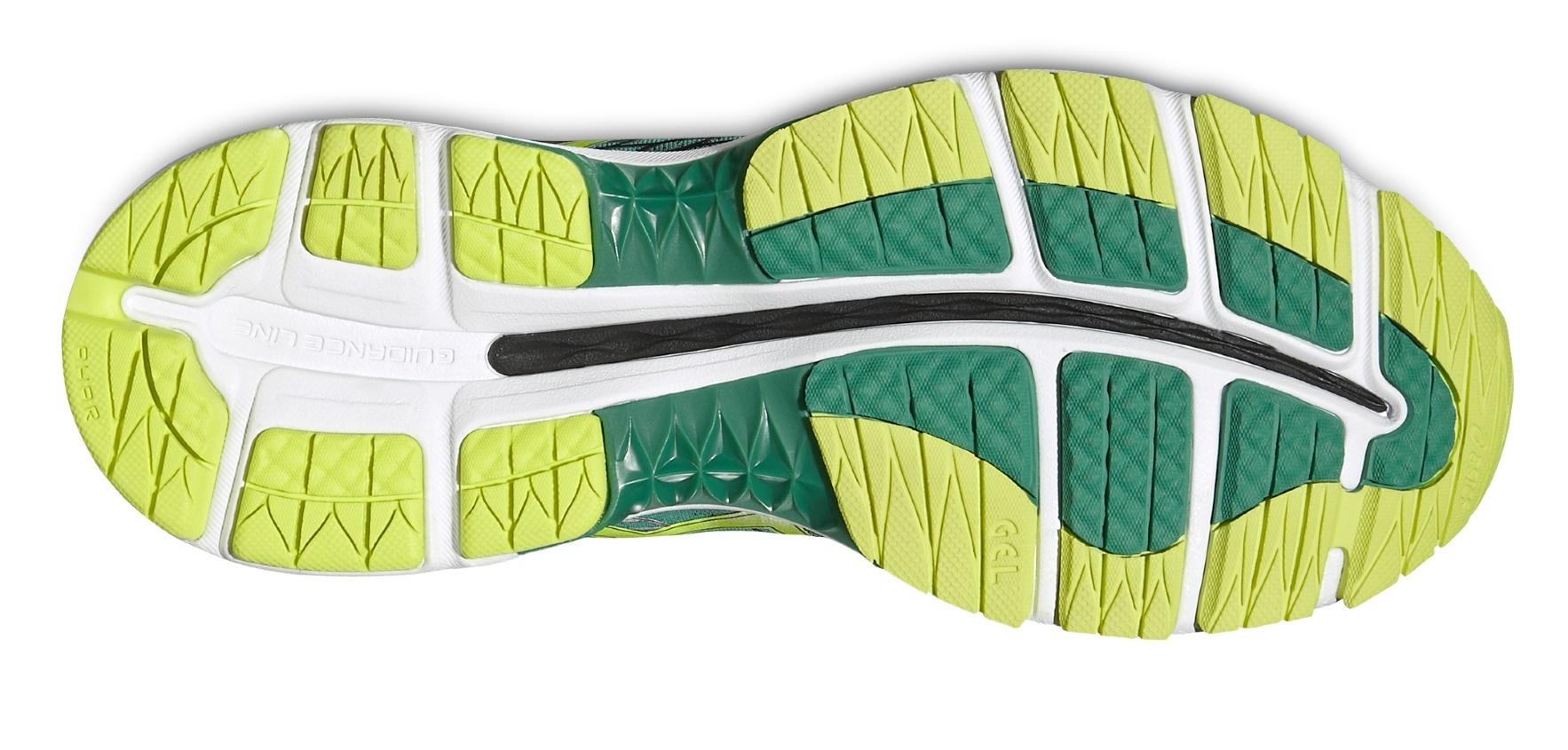 Мужские кроссовки для бега Asics Gel-Nimbus 18 (T600N 8807) зеленые фото