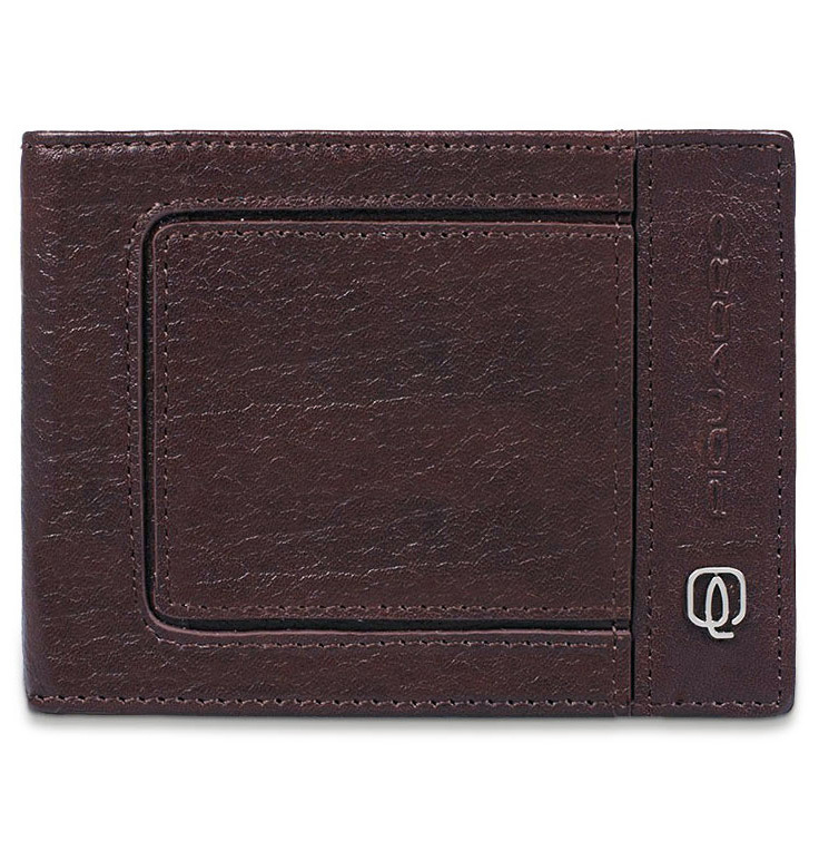 Портмоне Piquadro Vibe, цвет коричневый, 12,5х9х2 см  (PU257VI/TM)