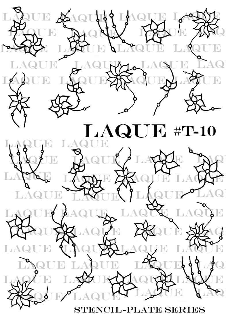Слайдер-трафареты для объемного дизайна T-010