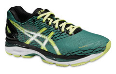 Мужские кроссовки для бега Asics Gel-Nimbus 18 (T600N 8807) зеленые