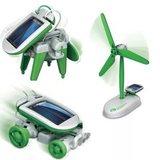 Конструктор 6 в 1 Solar на солнечных батареях