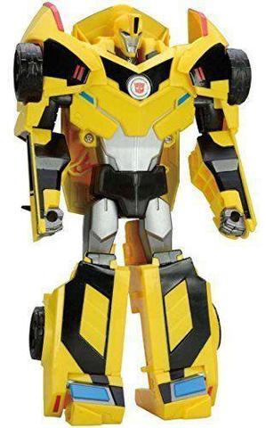 Робот - Трансформер Бамблби (Bumblebee) Вояжер класс TED-01 - Роботы под прикрытием, Takara Tomy