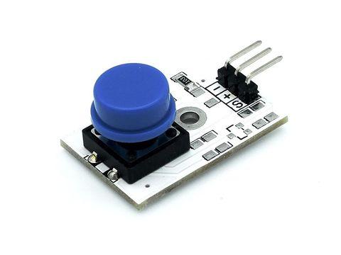 Модуль кнопки (синий)