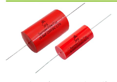 jb JPX  Supreme Metallized Polypropylene Film Capacitors (3.3 uF/250 V)